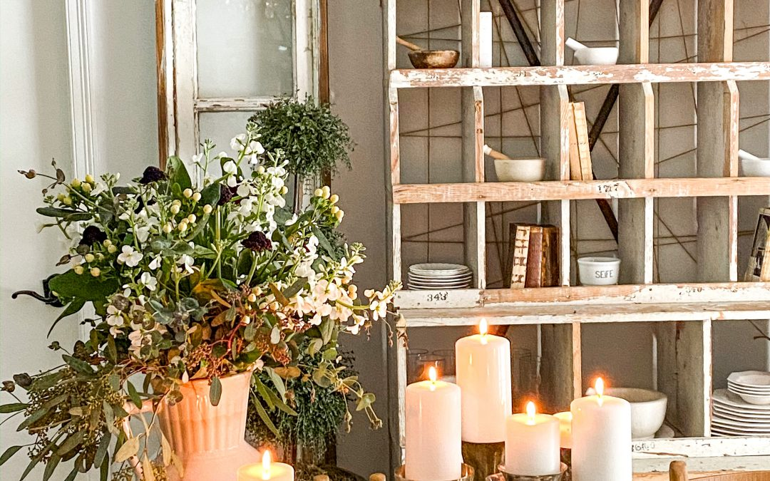 Three Winter Centerpieces for your Table
