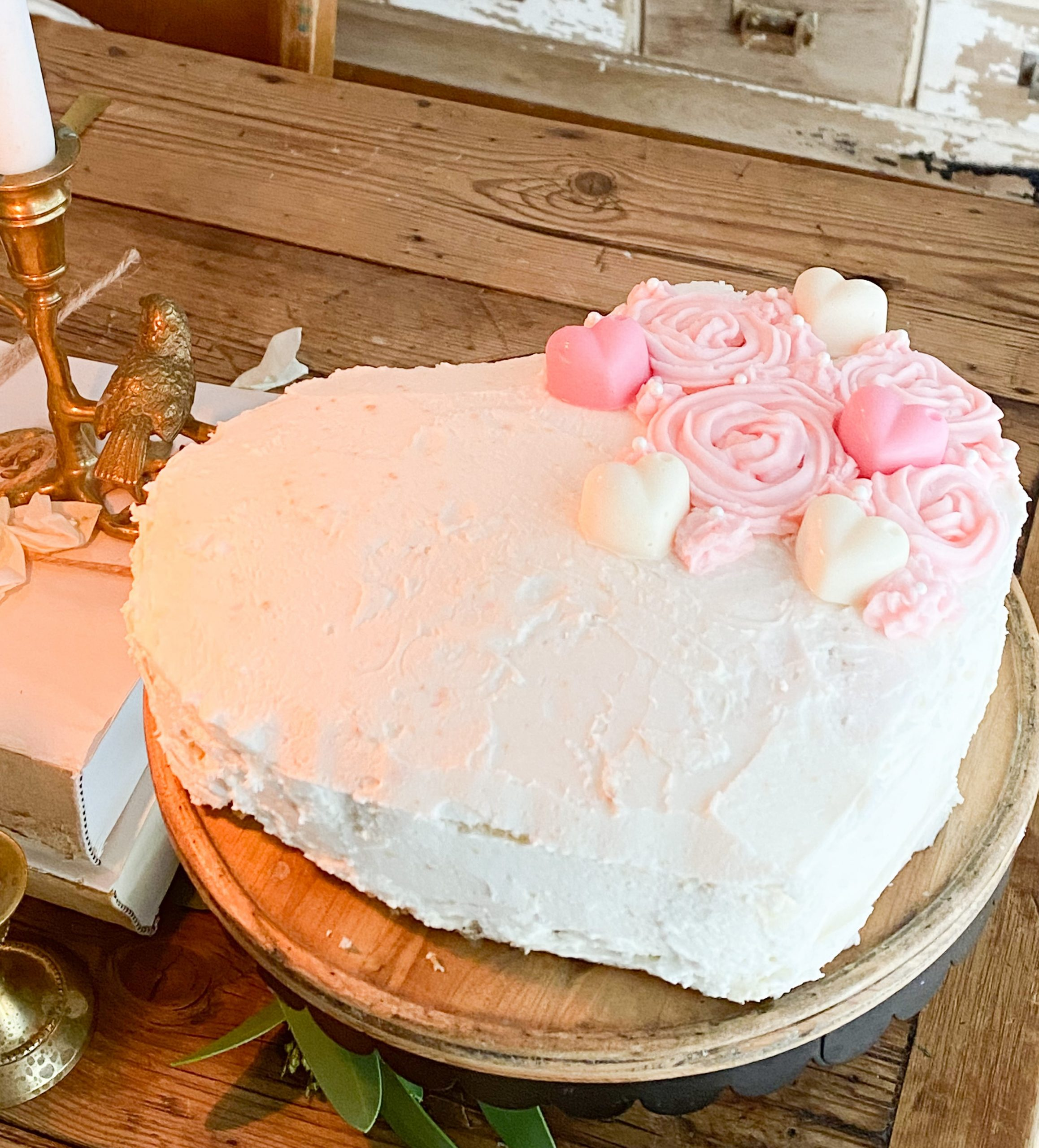 A Valentine's Day Cake for Mom