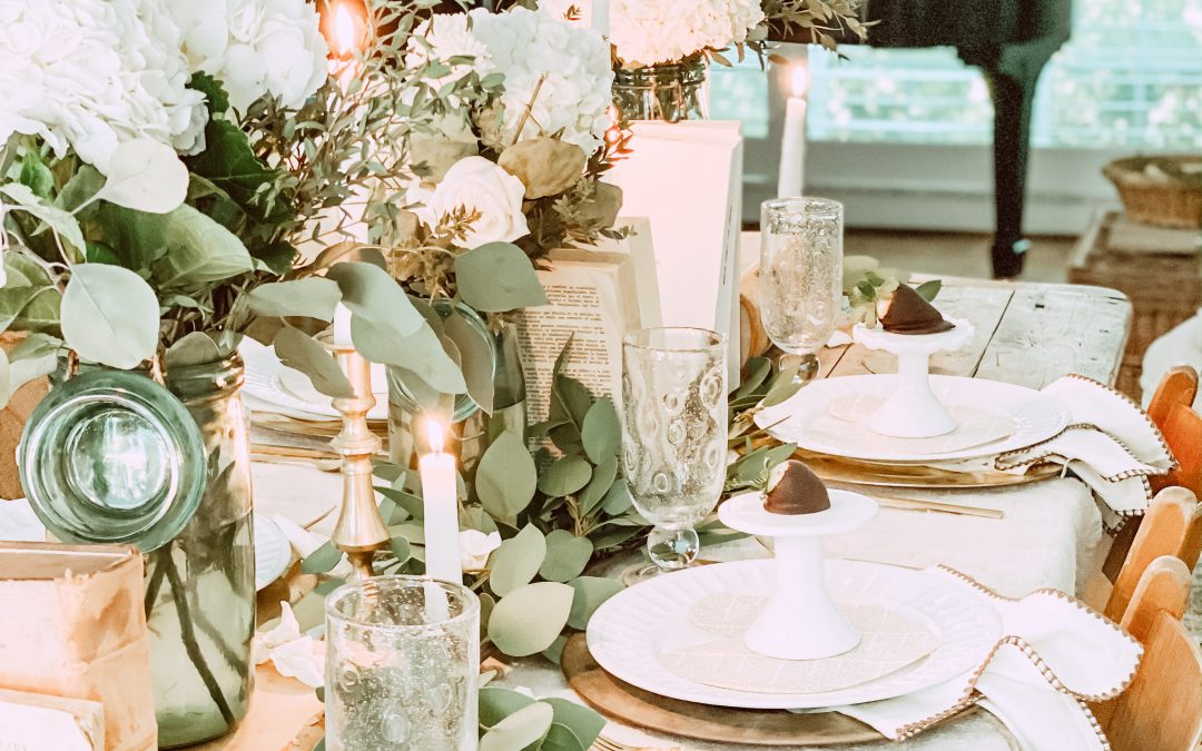 How to Put Together a Quick & Simple Valentine's Tablescape