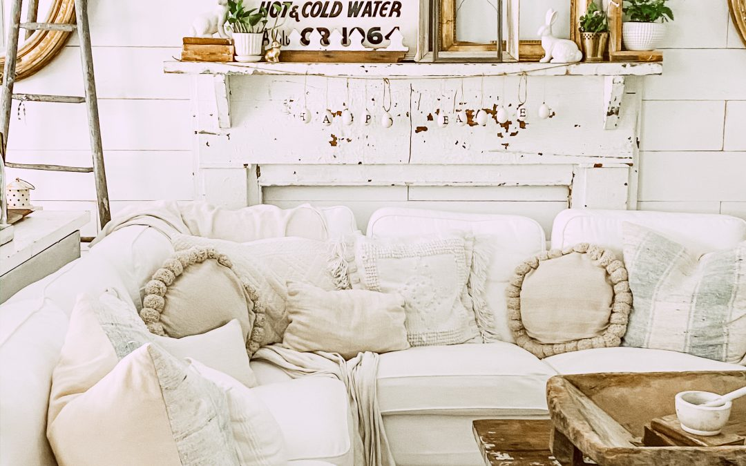 Three Mantel Styling Ideas for Spring
