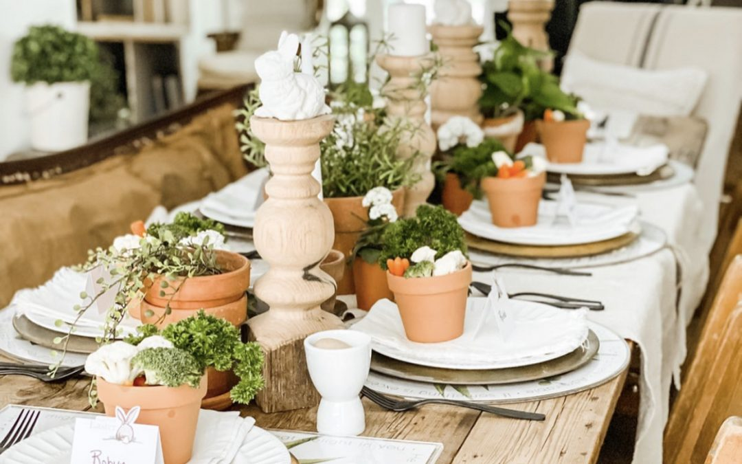 4 Ideas for Your Easter Tablescape