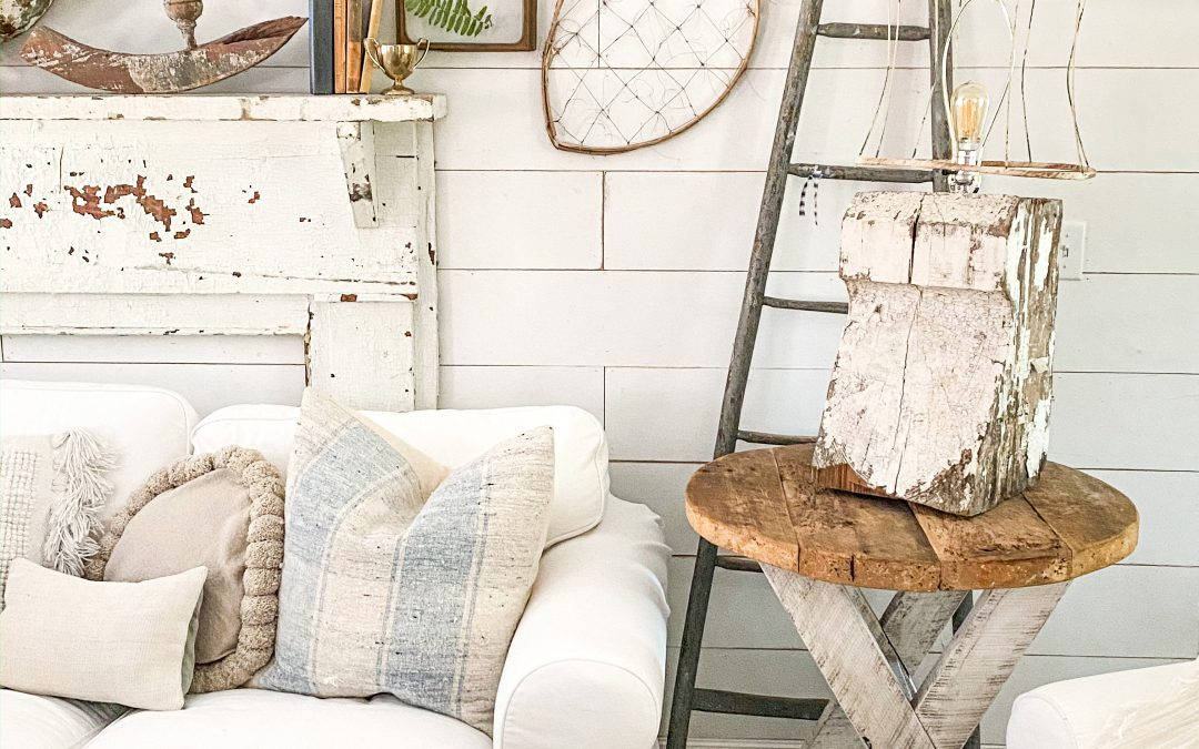 How to Make an Architectural Salvage Lamp