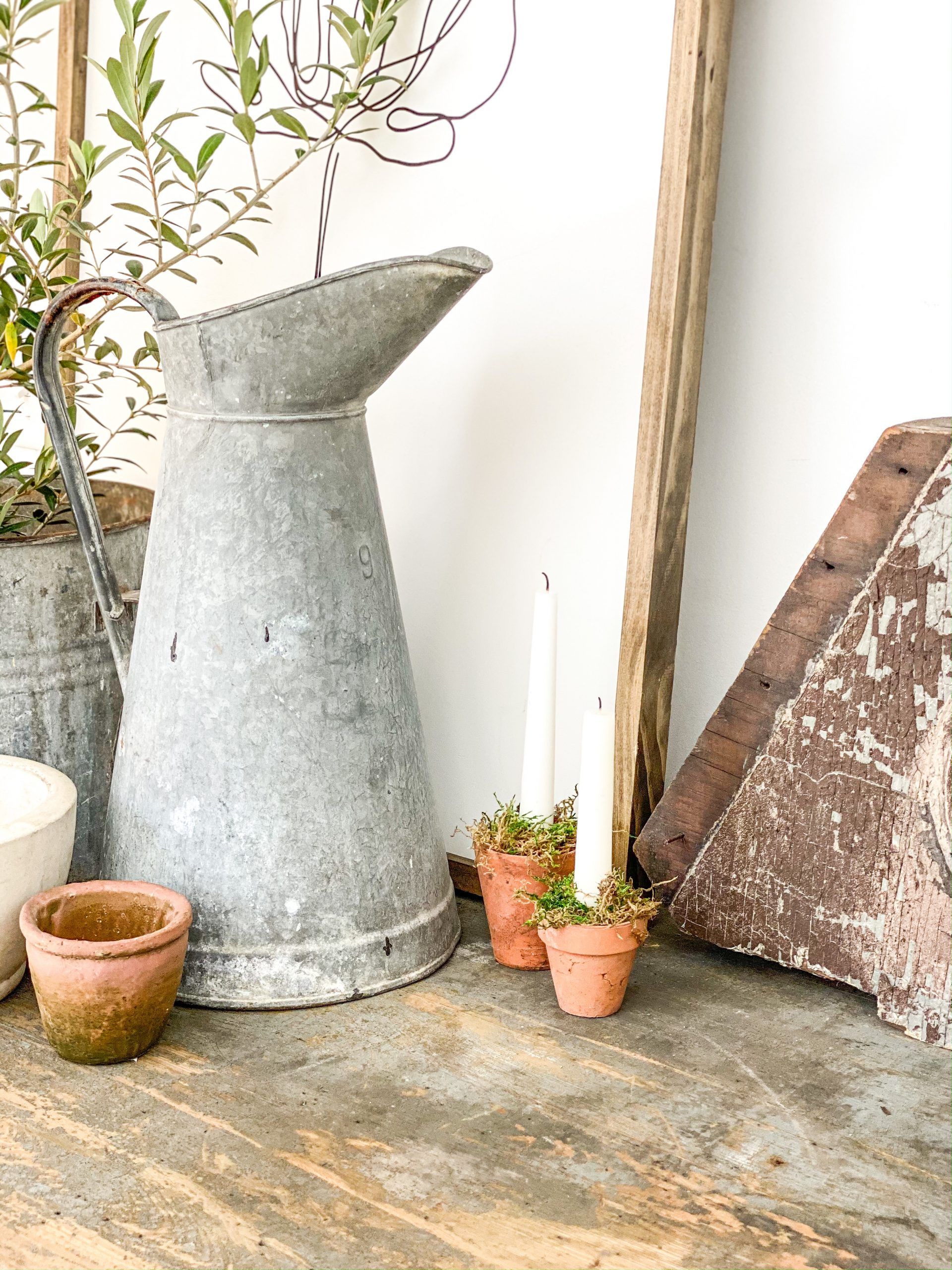 Make Your Own Garden-Inspired Candle Holder
