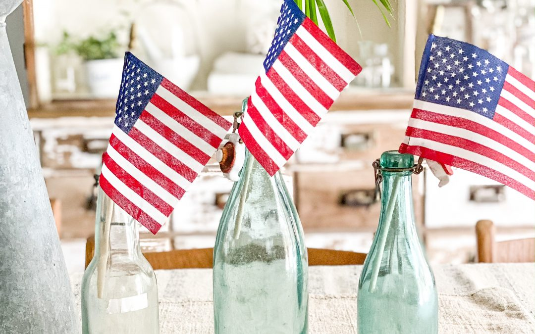 Four Patriotic Decor Tips for Under Five Dollars