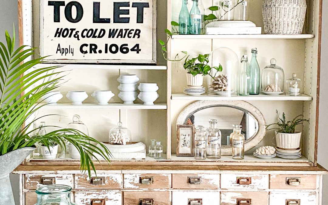 How to Make a Dining Room Hutch Beautiful