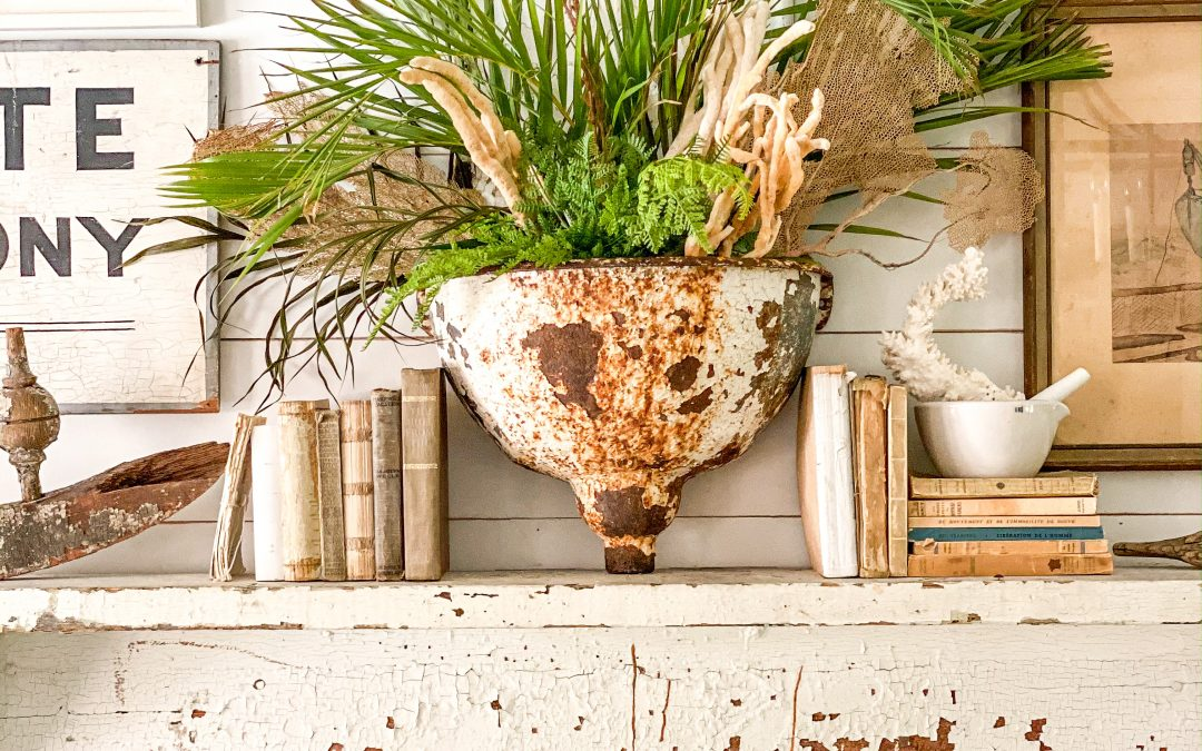 How to Decorate Your Summer Mantel with Beautiful Style