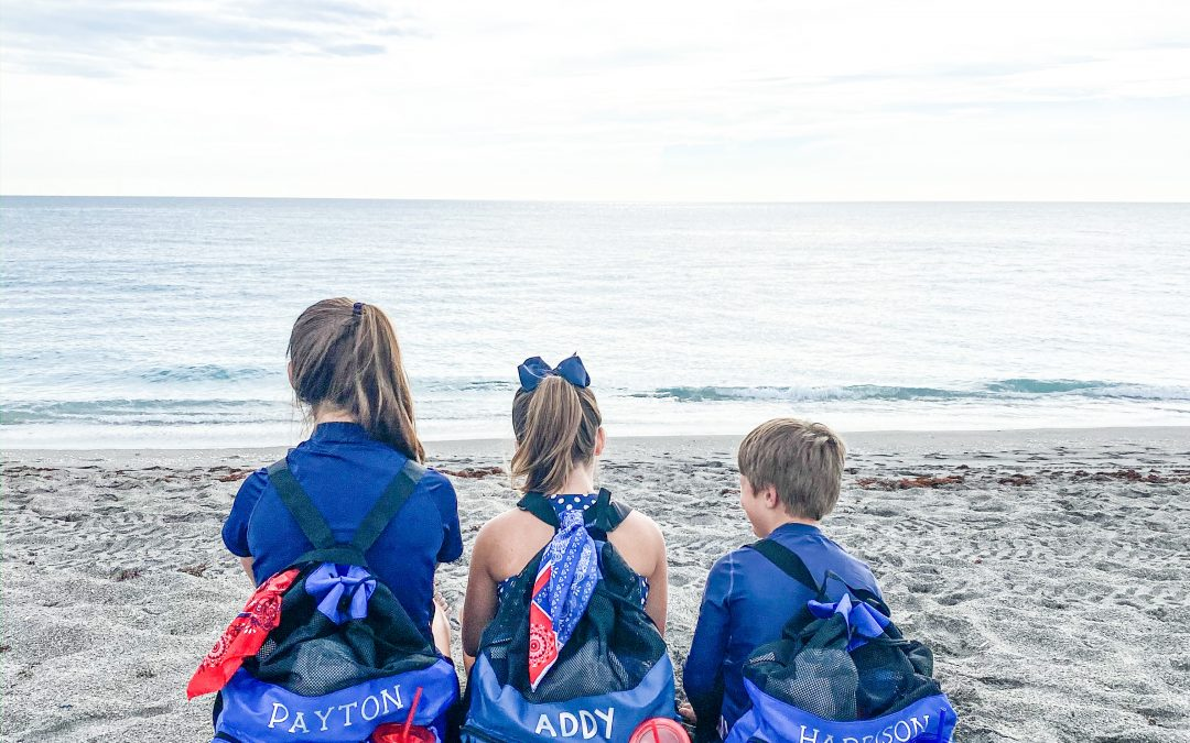 How to Make an Easily Personalized Beach Bag