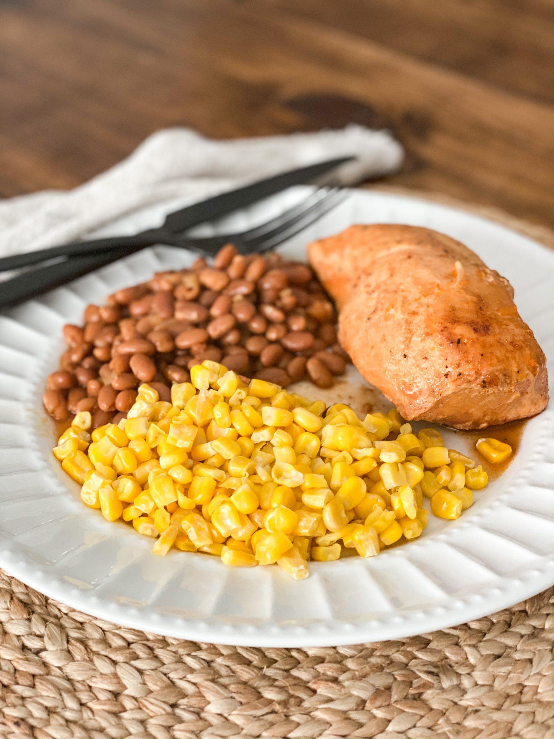Taco chicken recipe ingredients