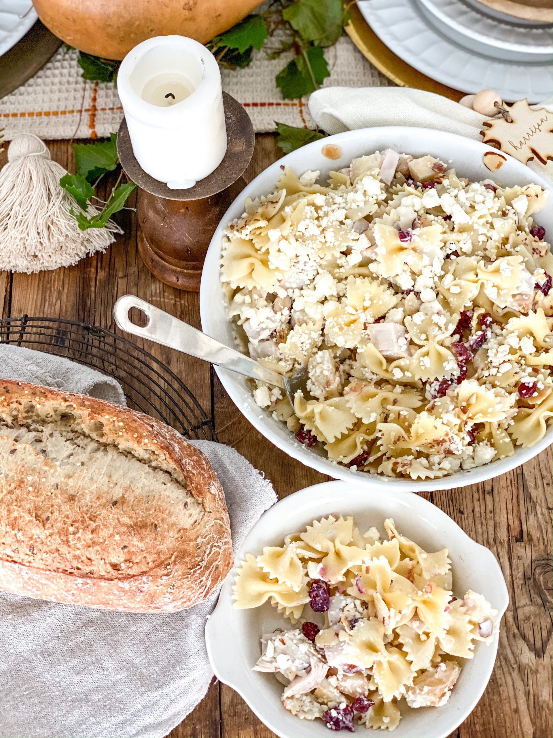 The Best, Extra Delicious, and Simple Fall Pasta Salad